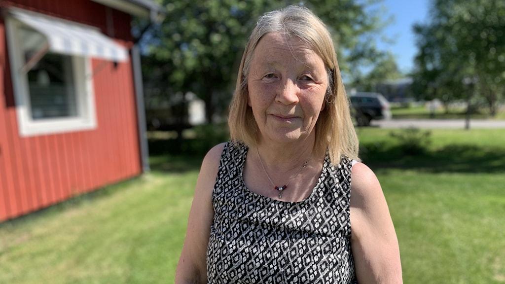 Karin Vannar ordförande för Samernas väl i Jokkmokk.