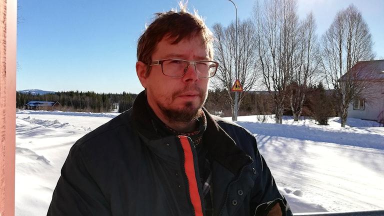 Mathias Kristoffersson från Borgafjäll.