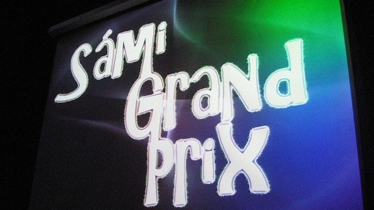 Sámi Grand Prix Foto: Åse Pulk/NRK