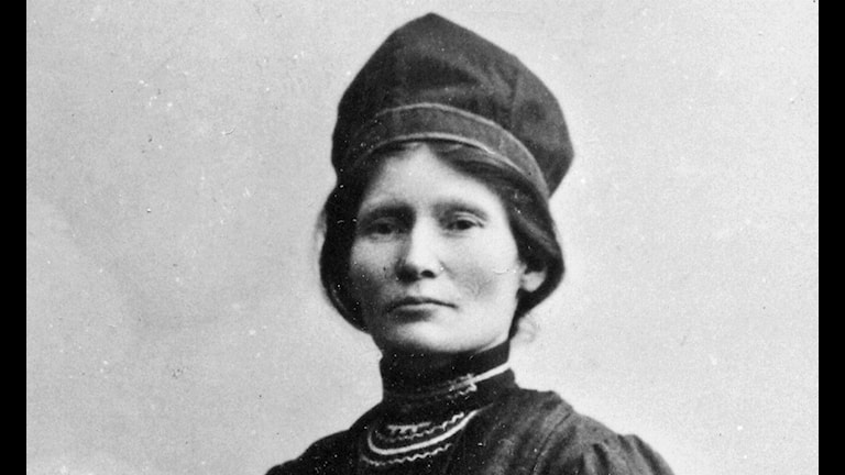 Elsa Laula. Fotoarkiv: Tromsø Museum - Universitetsmuseet