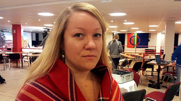Kristina Nordling. Foto: Anna Sunna/ Sameradion & SVT Sápmi