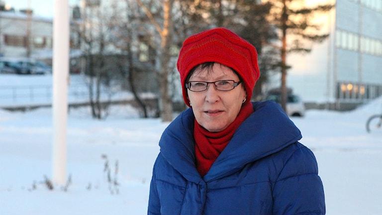 Rose-Marie Huuva. Foto: Máhtte Mienna. SR / Sámi radio.
