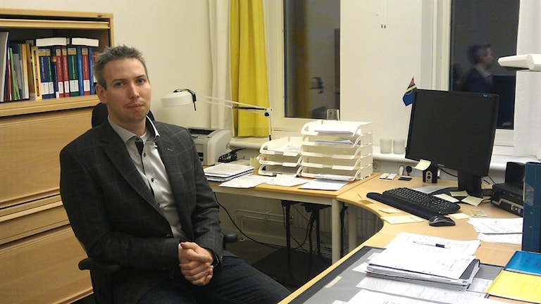 Björn Hedlund. Foto: Sameradion & SVT Sápmi