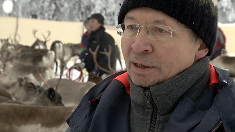 Lars-Anders Baer. Foto: Nils-Josef Labba/ SVT Sápmi
