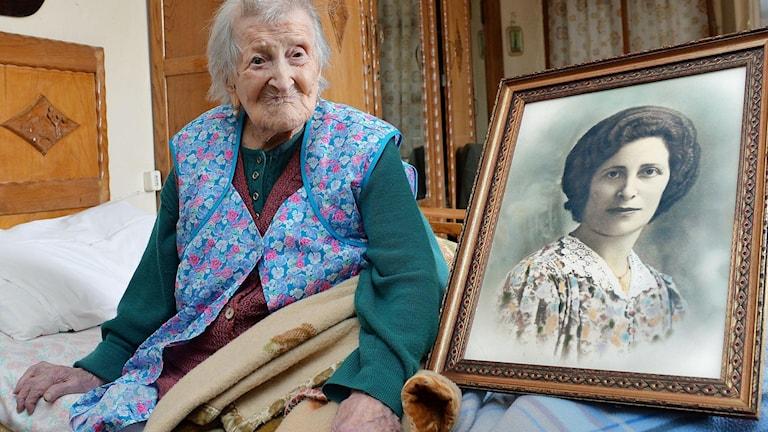 I maj 2016 blev Emma Morano från Italien världen äldsta person med sina 115 år.