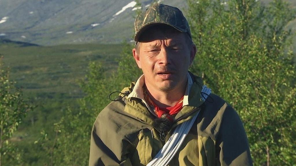 Pär Mikael Åhrén, ordföranden för Ohredahke sameby
