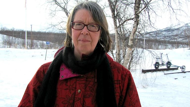 Birgitta Åhman, professor i renskötsel på SLU
