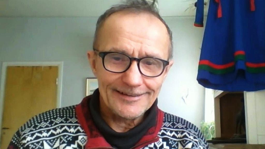 Sametingets styrelseordförande Håkan Jonsson