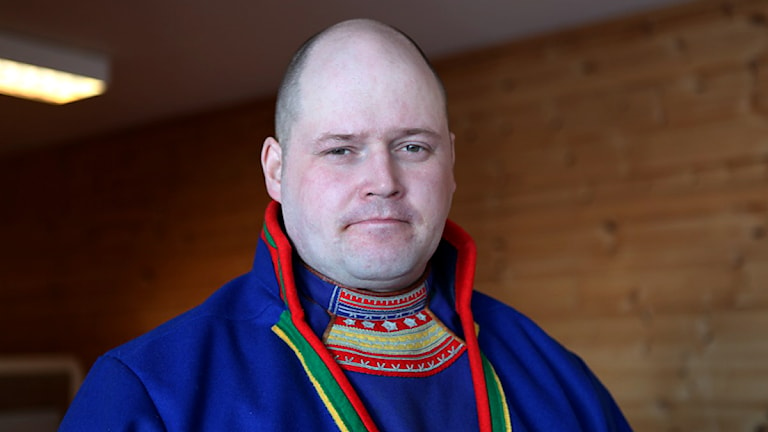 Jörgen Stenberg. Foto: Lars-Ola Marakatt/ Sveriges Radio Sameradion