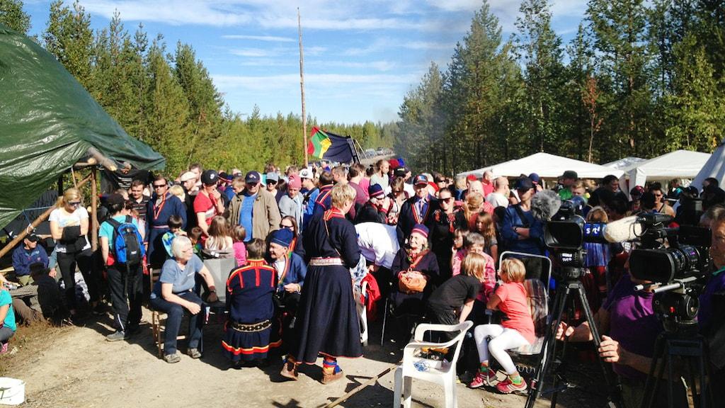 Foto: Marja Påve/SVT Sápmi.