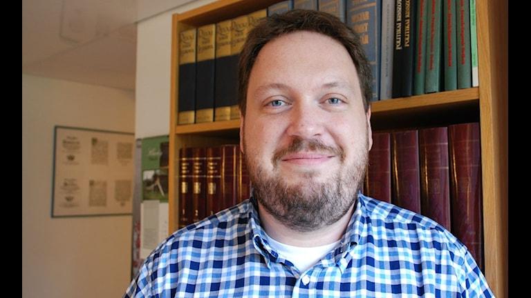 Gábor Tillinger, Uppsala Universitet. Foto: Olle Kejonen / SR Sameradion
