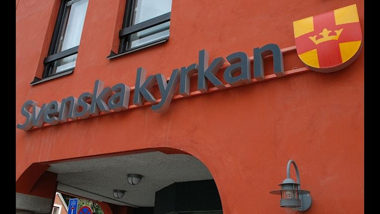 Svenska kyrkan. Foto: Olle Kejonen / SR Sameradion