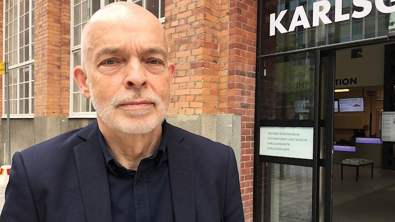 Carl-Magnus Gagge, chef Västmanlands läns museum.