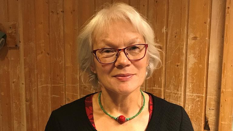 Britta Marakatt-Labba. Foto: Marie Elise Nystad/NRK Sápmi