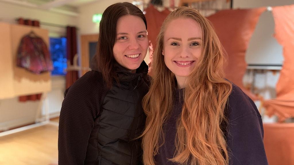 Marika Renhuvud och Liv Aira