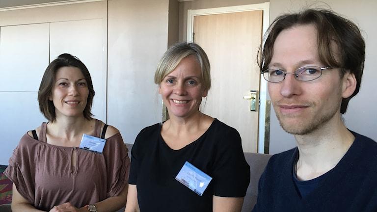 Elise Lepy, Camilla Risvoll och Tim Horstkotte