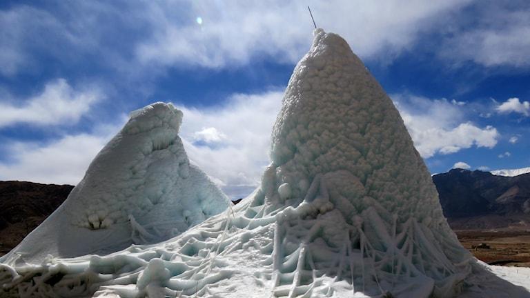 konstgjord glaciär