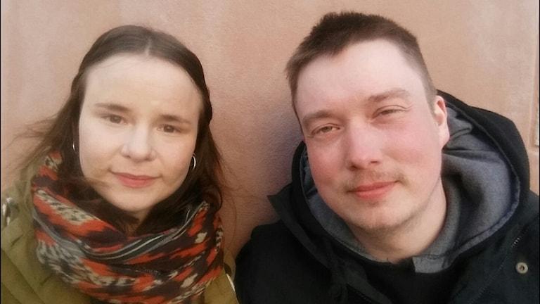 Inga-Wiktoria Påve och Anders Sunna