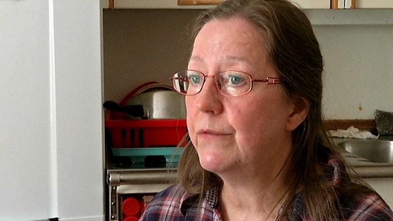 Lilian Ryd, författare av boken Renskötarkvinnor. Foto: Nils-Josef labba/ SVT Sápmi