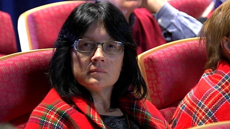 Sylvia Sparrock, Samiska rådet i Svenska kyrkan. Foto: Nils-Josef Labba/ SVT Sápmi