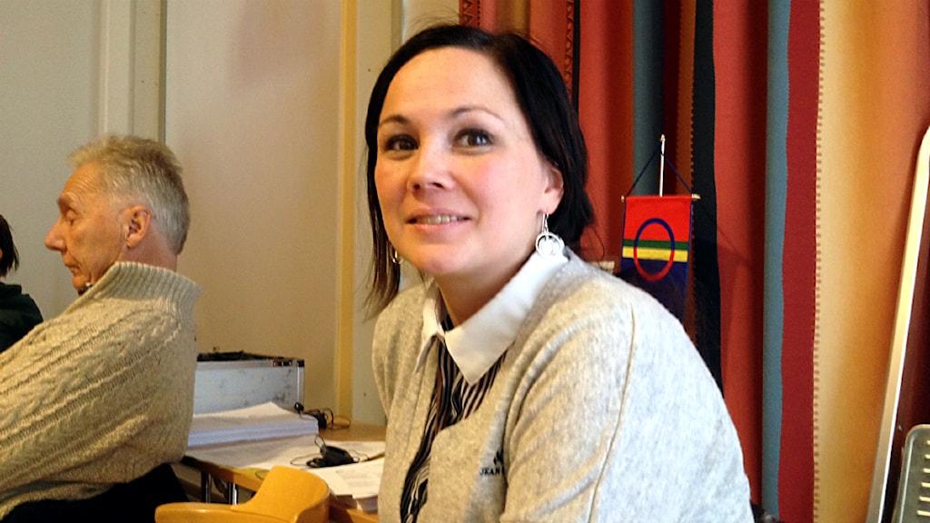 Ellinor Marita Jåma. Foto: Anna-Karin Niia/ Sameradion & SVT Sápmi