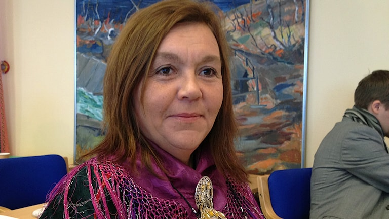Karin Mannela (JoF), ordförande för Kulturnämnden.