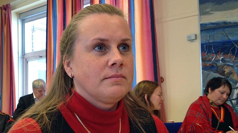 Veronika Håkansson, Jakt- och fiskesamerna. Foto: Anna-Karin Niia/ Sameradion & SVT Sápmi
