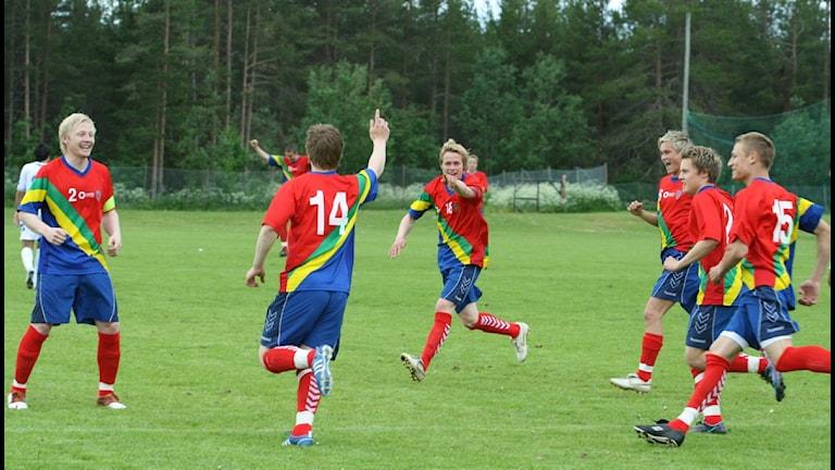 Arkivbild från Viva world cup i Gällivare, 2008. Foto: Sigve Nedredal, NRK Sápmi.