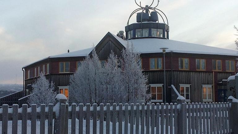 Karesuando skola. Foto: Lars-Ola Marakatt/ Sveriges Radio Sameradion
