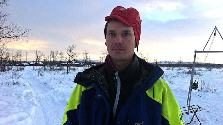 Niila Inga Foto: Anne-Marit Päiviö/SVT Sápmi