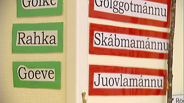 Samisk undervisning