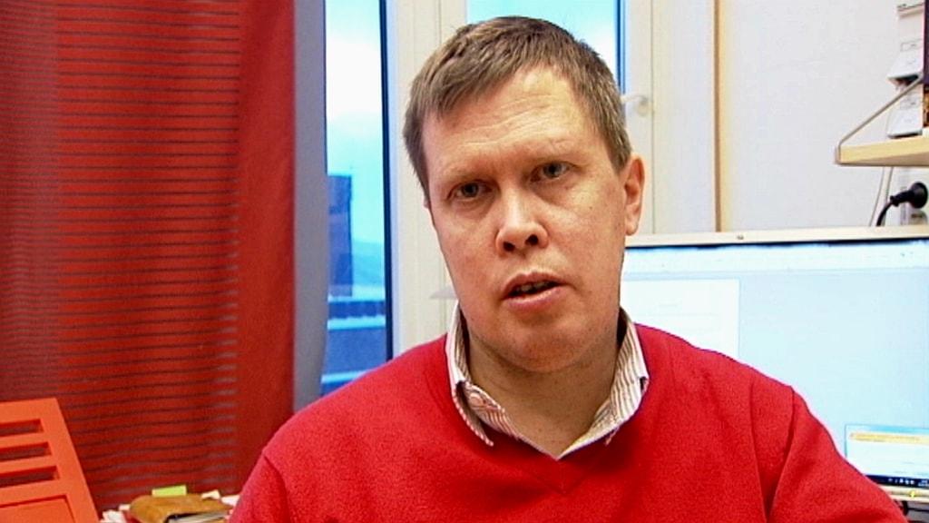 Mattias Åhrén. Foto: NRK