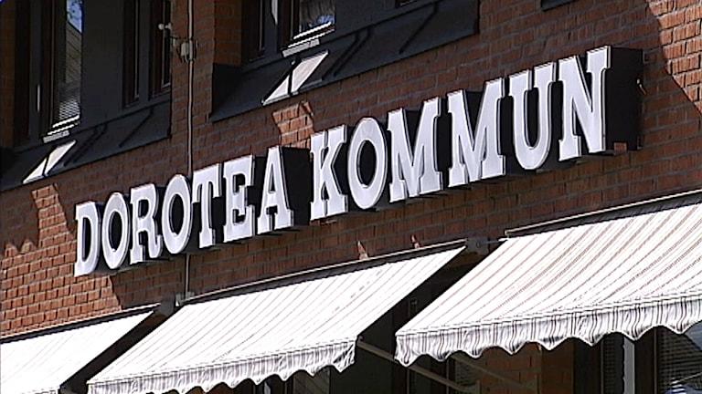 Dorotea kommun. Foto: SVT
