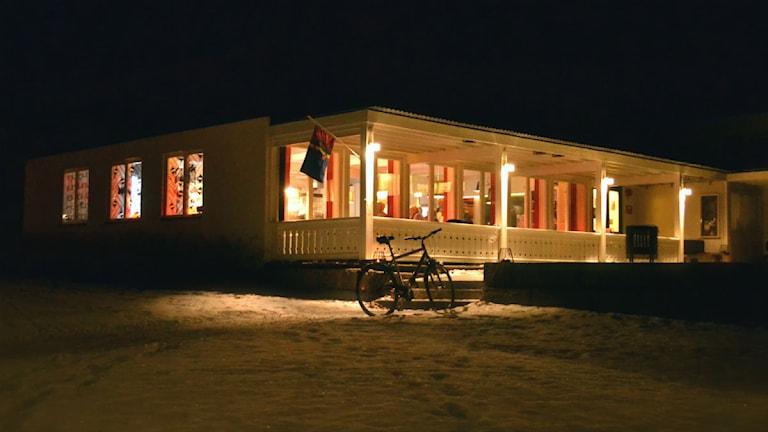 Tráhppie, samisk kulturcenter, Umeå. Foto: Marica Blind/Sameradion