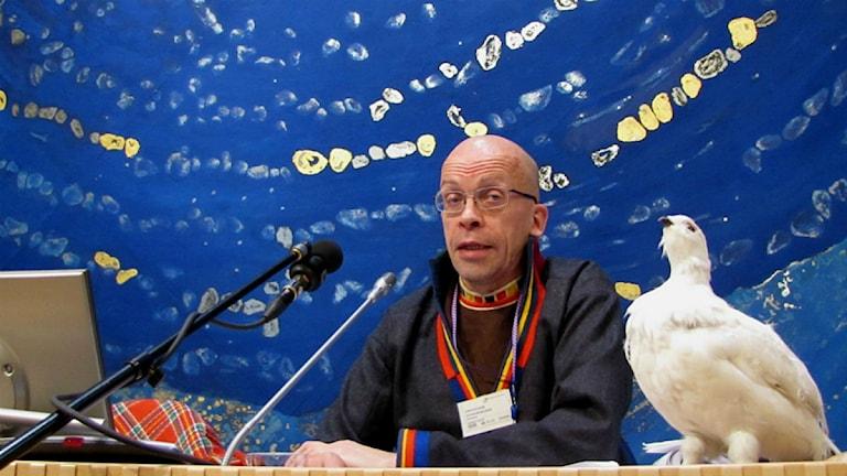 Stefan Mikaelsson. Foto: Lars-Ola Marakatt/ Sveriges Radio Sameradion