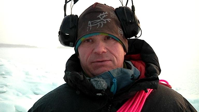 Renskötare Jakob Nygård. Foto: Stefan Karlsson/ SVT Sápmi