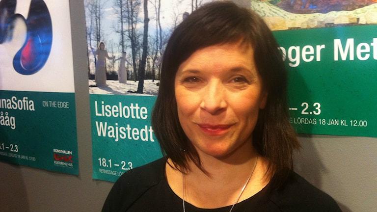 Liselotte Wajstedt. Foto: Anna Sunna, Sveriges Radio Sameradion