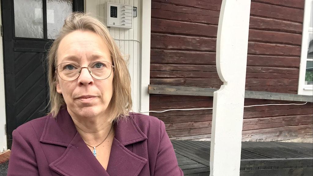 Jenny Wik Karlsson, förbundsjurist på Svenska Samernas riksförbund, SSR