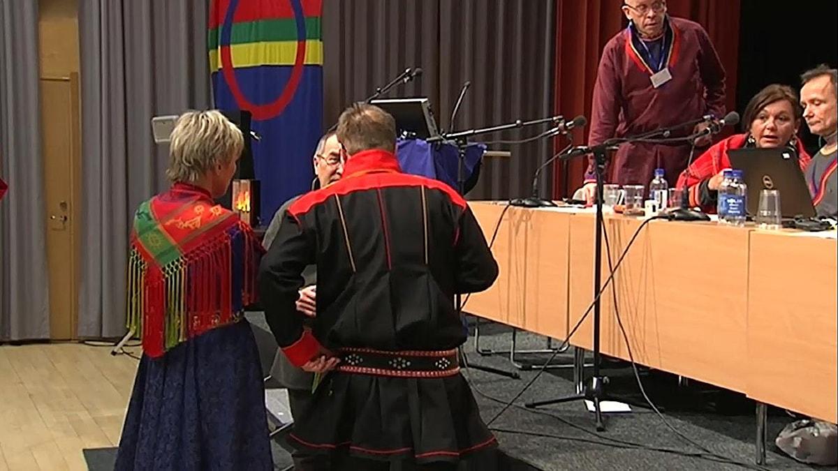 Samekonventionen var bland annat föremål för diskussion under Parlamentarikerkonferensen i Umeå
