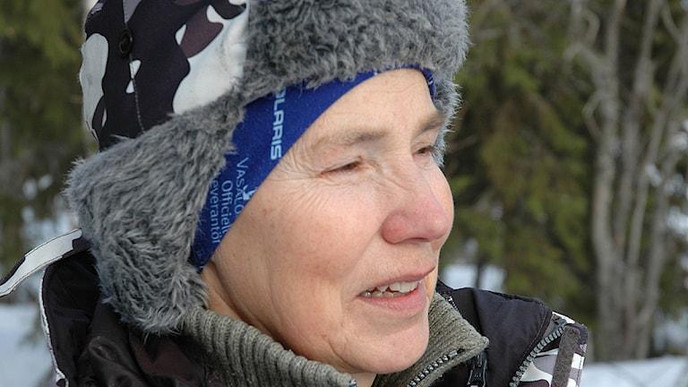 Anita Gimvall, Perstorp, Storuman. Foto: Pia Sjögren.