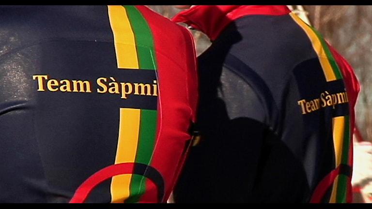 Team Sápmi på AWG i Alaska Foto: Stefan Karlsson/ SVT Sápmi