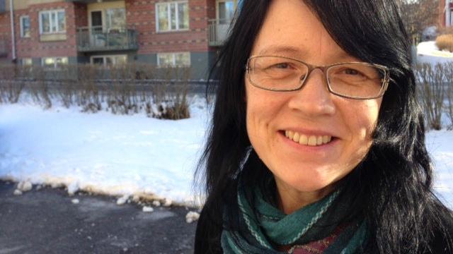 Sylvia Sparrock, ordförande för samiska rådet i Svenska kyrkan. Foto: Privat