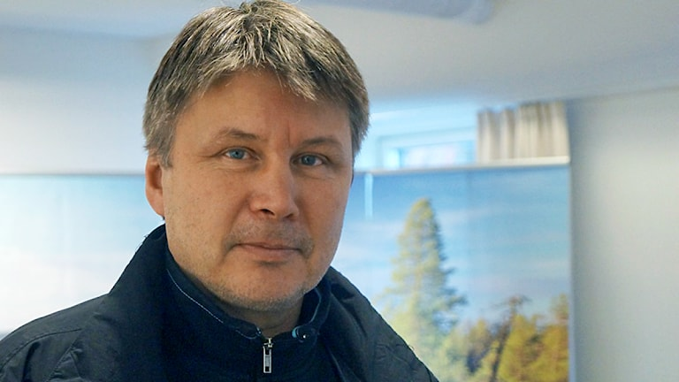 Anders Kråik, partiet Samerna. Foto: Anna Sunna/ Sveriges Radio Sameradion