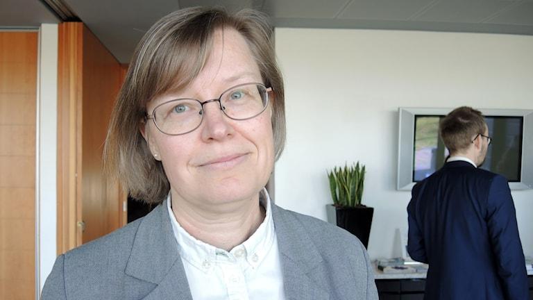 Kaisa Syrjänen Schaal på Svenska kyrkan. Foto: Olle Kejonen / SR Sameradion