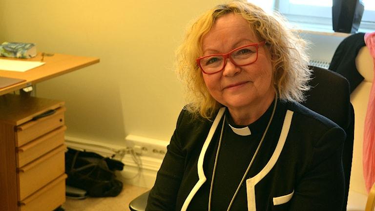 Birgitta Simma. Foto: Marica Blind/ Sameradion & SVT Sápmi