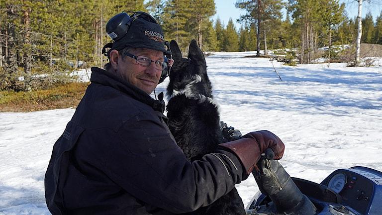 Stig Persson. Foto: Anna Sunna/Sveriges Radio Sameradion