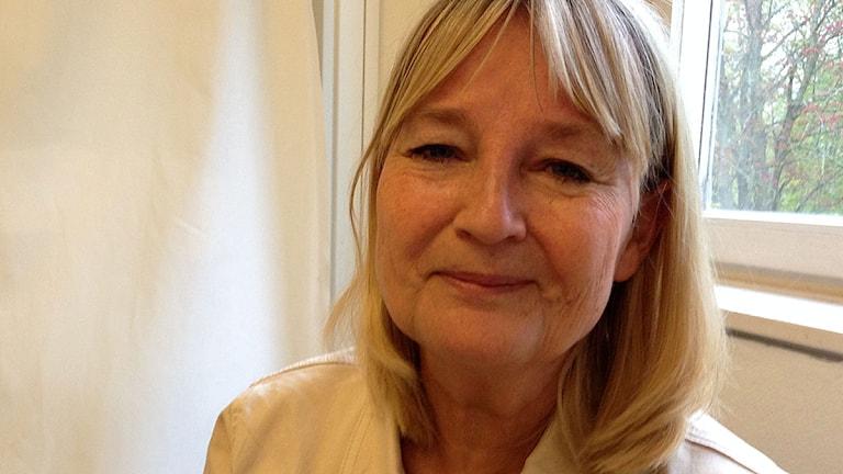 Socialdemokraternas toppkandidat inför EU-valet Marita Ulvskog. Foto: Jörgen Heikki, SR Sámi Radio.