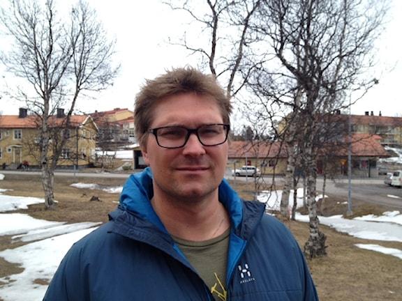 Stefan Sydberg. Foto: Marja Påve/ Sameradion & SVT Sápmi