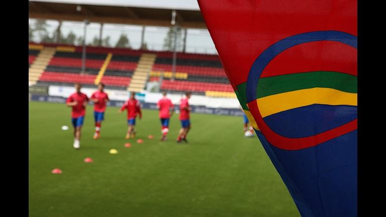 Conifa Worldfotboll Cup 2014 Östersund. Foto: Anne Marit Päiviö/ Sameradion & SVT Sápmi