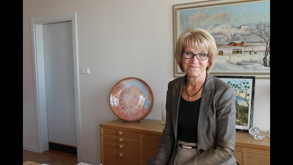 Kristina Zakrisson, S och kommunalråd. Foto Ida Mikko